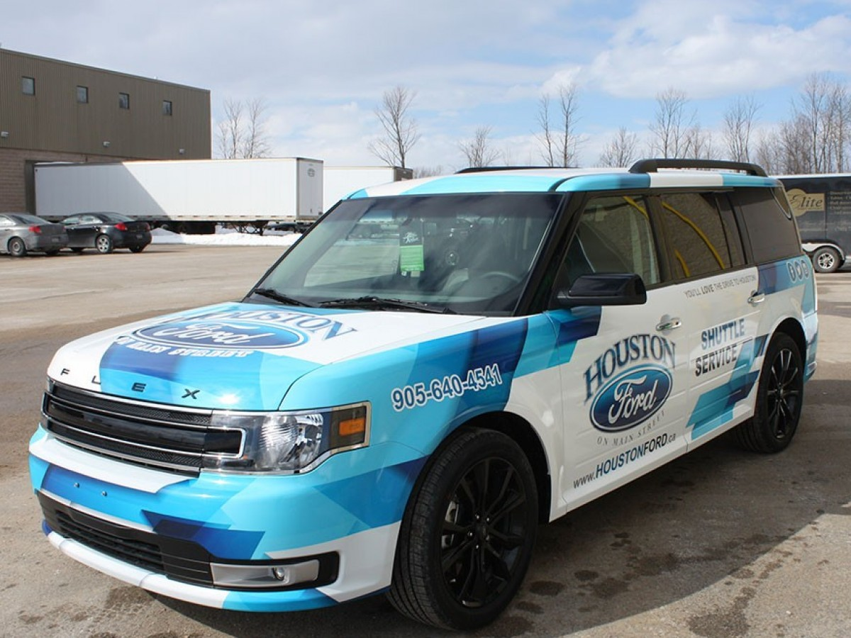 houston-ford-shuttle-wrap-graphics