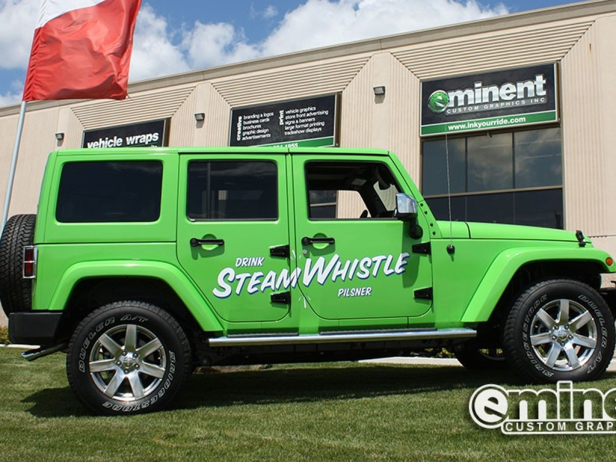 steam-whistle-jeep-wrap-graphics-avery-custom-beer